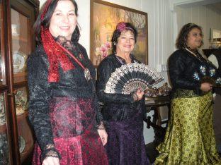 Aditi Foundation Dancers (l to r) Sarah Vasey, Alyce Morena di Palma, Alin Rios