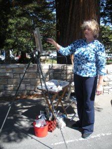 Barbara Norton at work