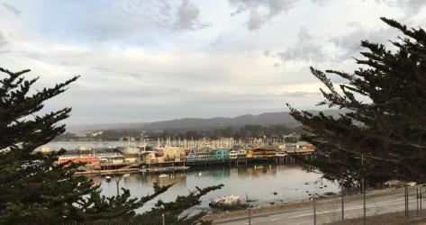 View from Lower Presidio Historic Park today Photo Credit Old Monterey Foundation