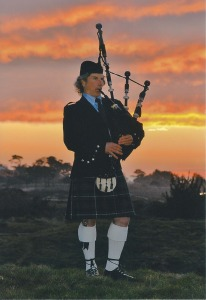 Pipe Major Michel d'Avenas