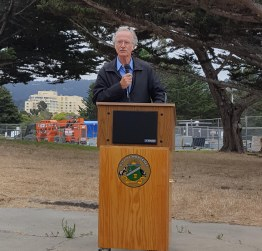 Groundbreaking Ceremony - Mayor Roberson - 7aa