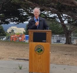 Groundbreaking Ceremony - Mayor Roberson - 7aa