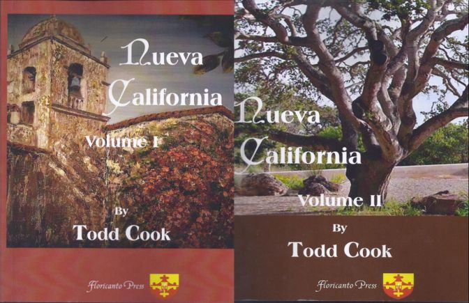 Nueva California: A Two-Part Novel of Latino California & The Carmel Mission