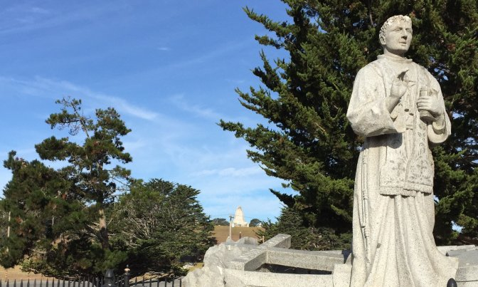 August 18 Lower Presidio Historic Park Walking Tour to focus on Saint Serra