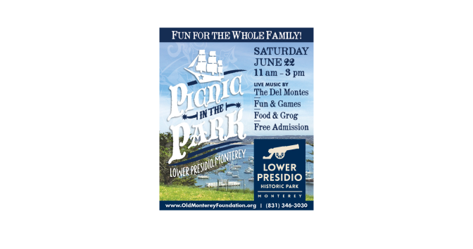 Picnic in the Park Saturday June 22nd!