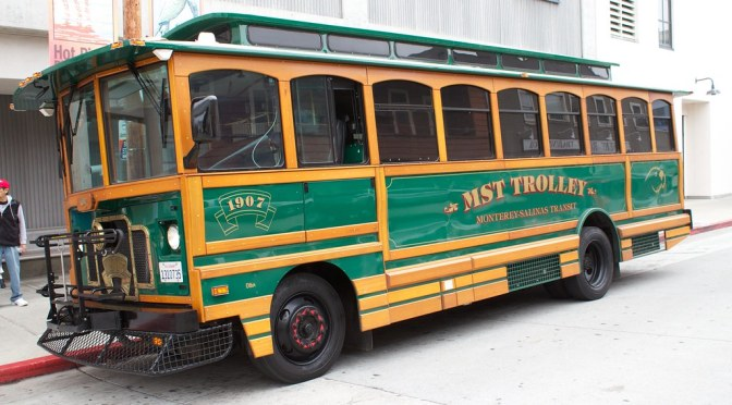 Ride the Free MST Trolley to Lower Presidio Historic Park