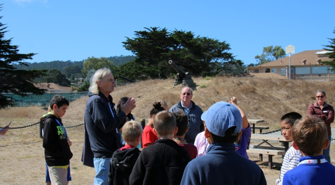 Old Monterey Foundation Sponsors Walking Tours for Teachers and Local Students
